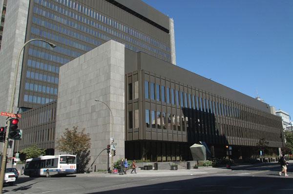 affaire Salvail Palais de justice de Montréal